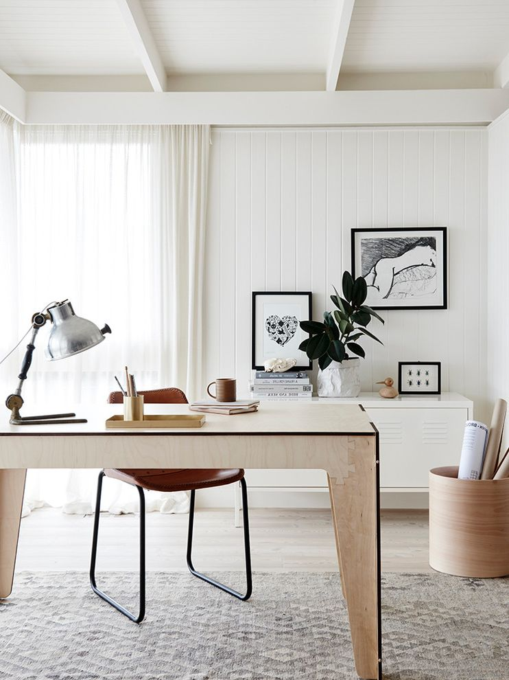 Ways to Get Rid of Mosquitoes   Scandinavian Home Office  and Brown Leather Desk Chair Desk Locker Filing Cabinet Puzzle Design Office Desk Side Tables End Tables White Sheer Curtains White Walls