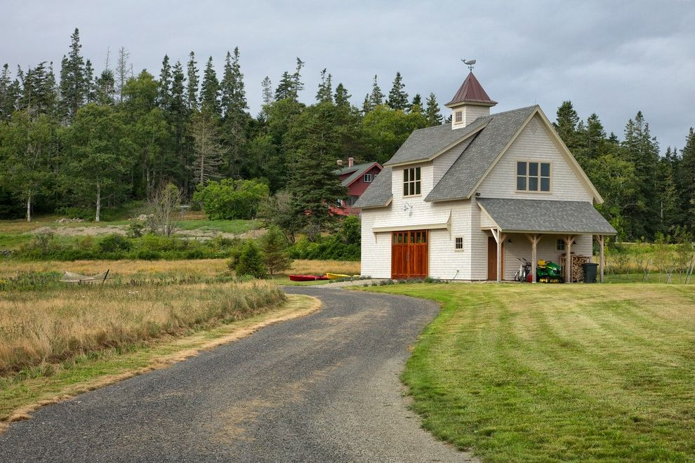 Weathervanes of Maine with Farmhouse Garage Also Cupola Maine Coast Living Roof Extension Whale Weathervane White Barn
