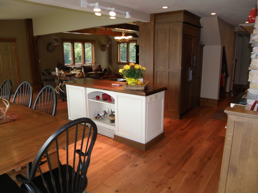 Weathervanes of Maine with Rustic Kitchen Also Rustic
