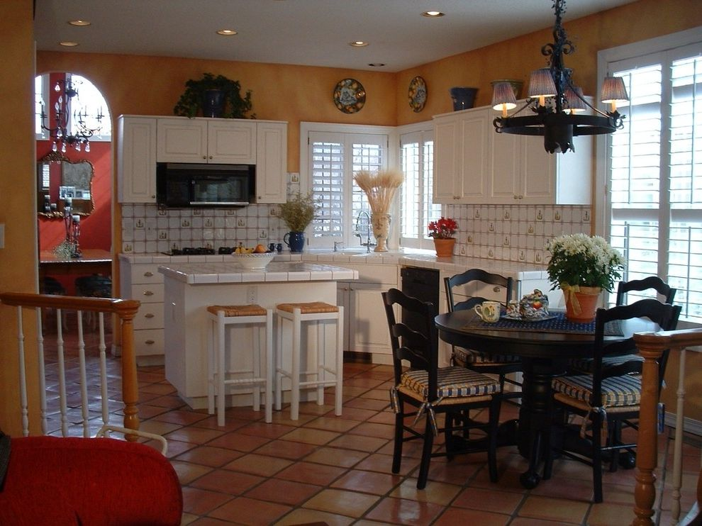 What Are Plantation Shutters   Mediterranean Kitchen  and Country Faux Finish French Furniture Kitchen Shutters Tile