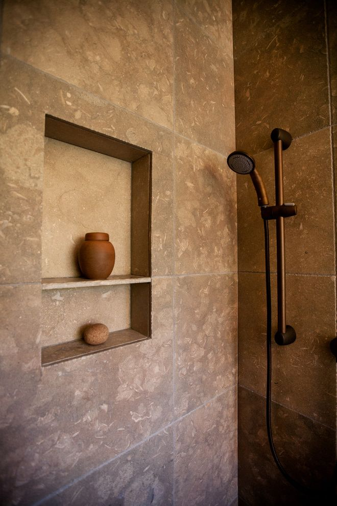 What Does Swag Mean with Eclectic Spaces Also Custom Tile Shower Fossil Blue Tile Handheld Shower Oil Rubbed Bronze Faucet Rohl Shower Shower Niche