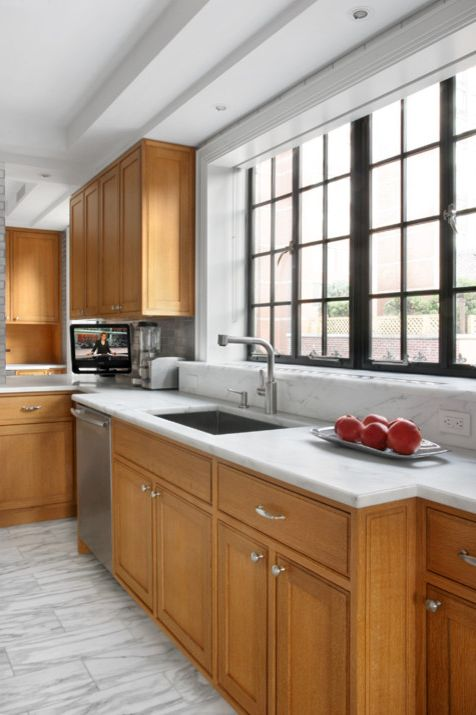 What is a Casement Window   Contemporary Kitchen Also Architecture Contemporary Design Interior Design Interior Renovation Kitchen New York City Penthouse Prewar Traditional Zmk Group