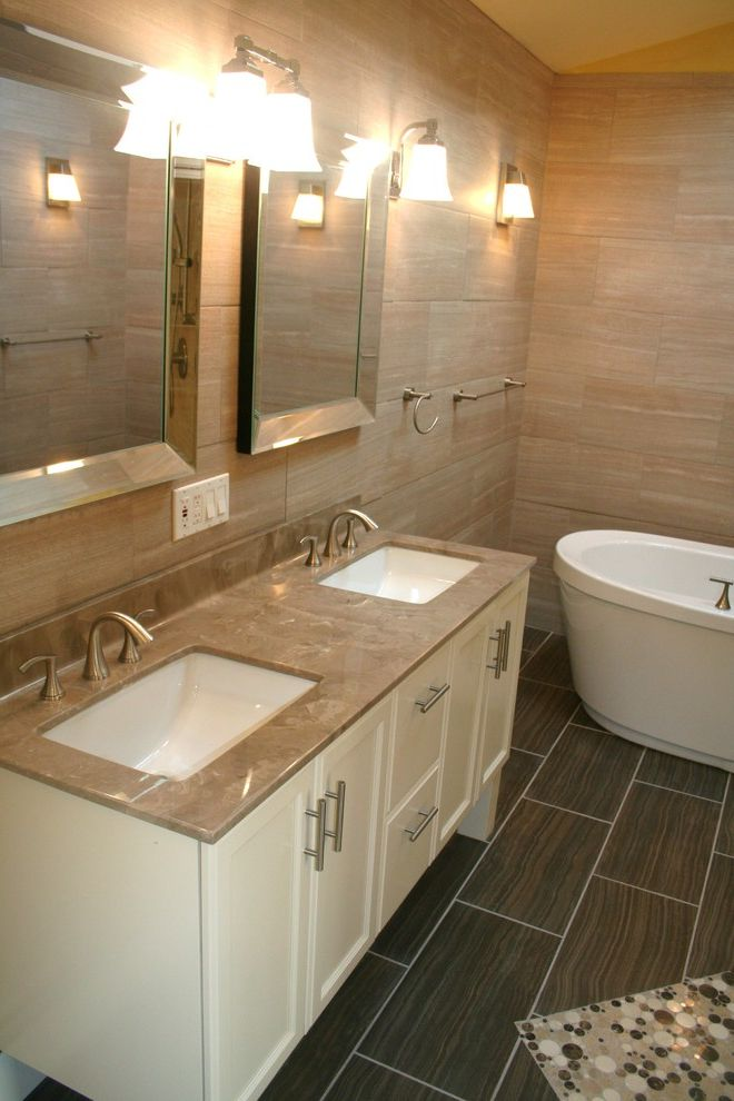 What is Cultured Marble with Contemporary Bathroom  and Contemporary