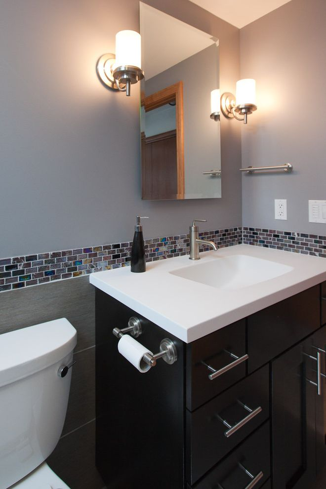 What is Cultured Marble with Modern Bathroom  and Modern