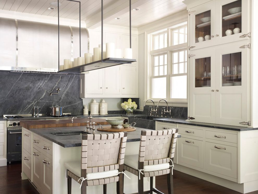 What is Soapstone with Transitional Kitchen Also Candles Double Hung Windows Pot Filler Soapstone Strap Hinges Two Bridge Faucets