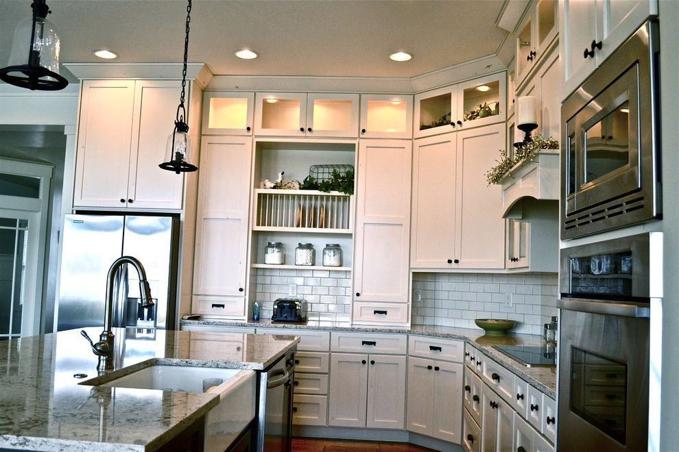 Whirlpool Double Oven Troubleshooting   Traditional Kitchen Also Appliances Backsplash Cottage Kitchen Quarts Sink
