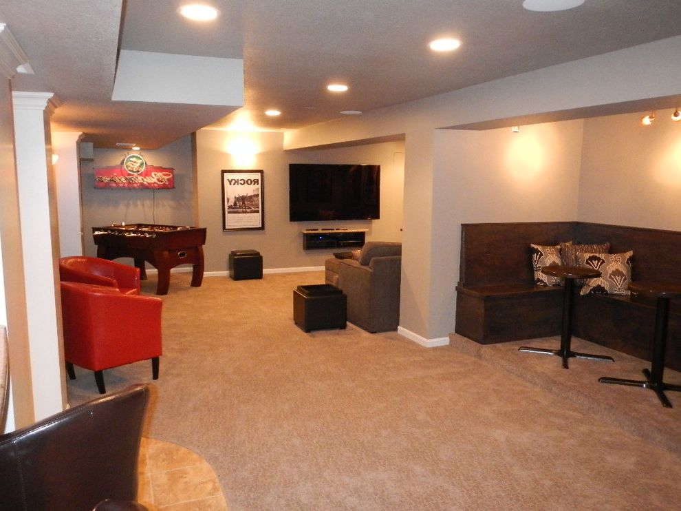 Overland Park, Ks Basement Entertainment Center $style In $location