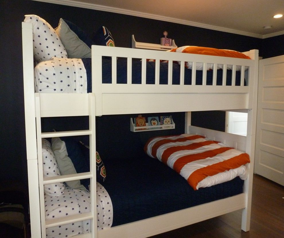 Wights Nursery With Beach Style And Bunk Beds