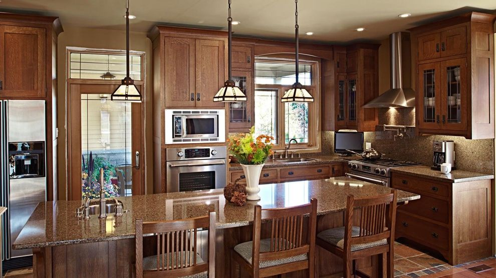 Wright Lumber with Traditional Kitchen Also Arts Crafts Canadian Custom Harvest House Kitchen Mission Quarter Sawn Oak Solid Wood Stained
