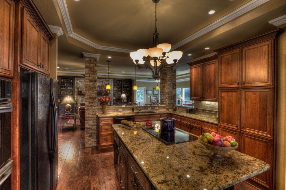 Www Arizonatile Com with Traditional Kitchen  and Cabinets Counter Curb Appeal Renovations Floor Granite Island Lighting Wood