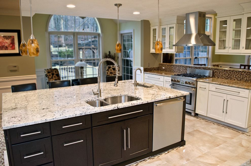 Wyckoff Lighting with Traditional Kitchen and Traditional