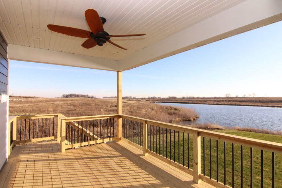 Xtreme Garage Fan with Traditional Deck  and Traditional