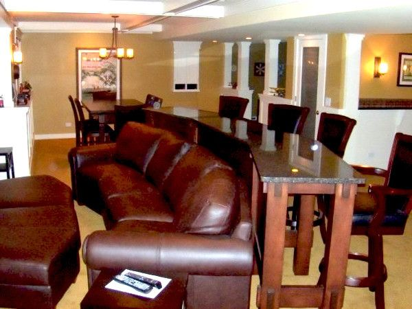 Youth Recliner   Contemporary Basement  and Contemporary