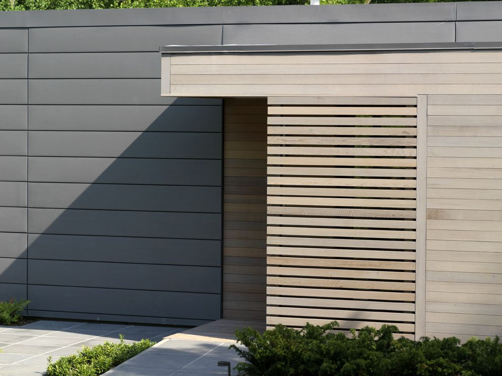 Zinc Siding With Contemporary Exterior Also Contemporary