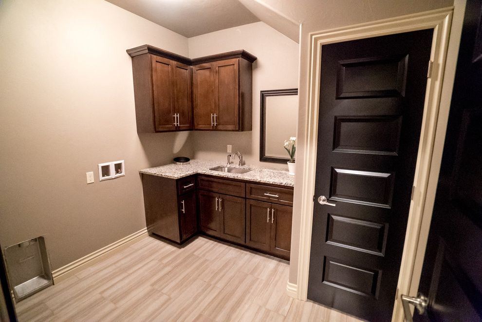 Allenstyle Homes   Modern Laundry Room  and Modern