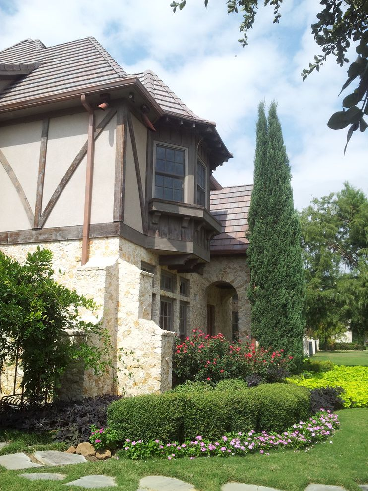 Arrington Roofing   Traditional Exterior  and Dallas Roofers Residential Roofing Simulated Slate Slate Roofs