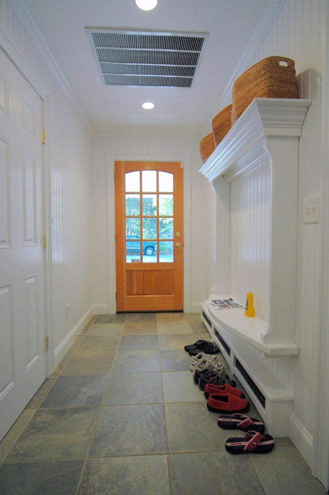 Baseboard Vent Covers   Eclectic Entry  and Door Mudroom Recessed Lighting Tiles