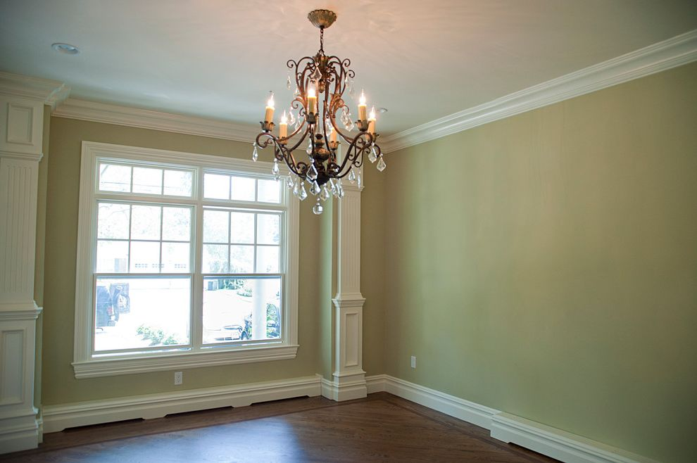 Baseboard Vent Covers   Traditional Dining Room  and Baseboard Covers Chandelier Custom Dining Room Trim