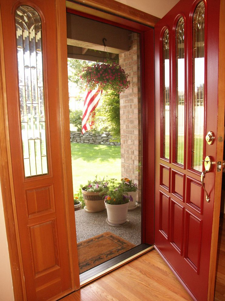 Bio Tech Pest Control   Traditional Entry  and Cross Breeze Entry Door Retractable Screen