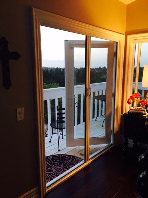 French Door Double Retractable Screen $style In $location