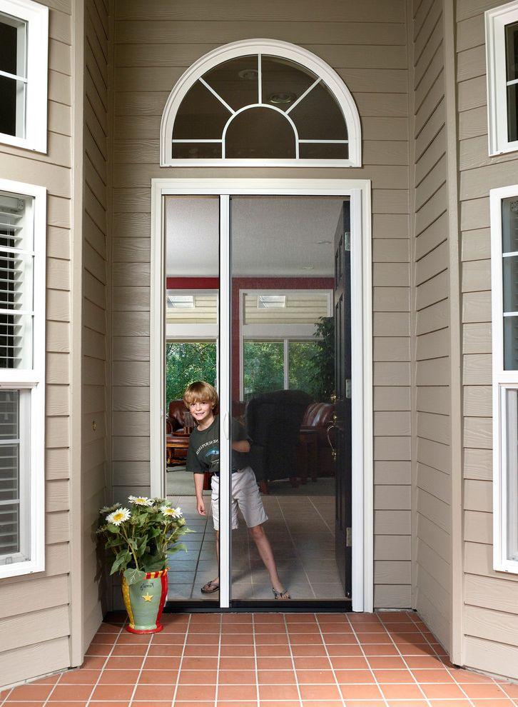 Bio Tech Pest Control with Traditional Entry Also Retractable Entry Door Screens Retractable Screen Doors