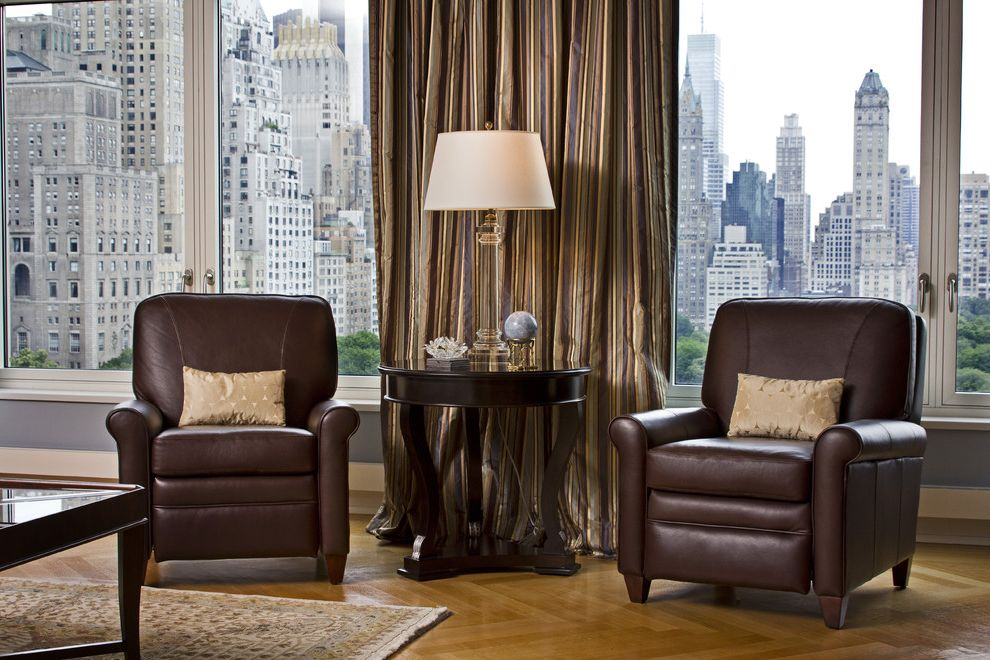 Bradington Young Recliner Reviews with Traditional Family Room  and Contemporary Family Room Contemporary Living Room Crystal End Table Leather Recliners Lighting Transitional Furniture Window Treatments
