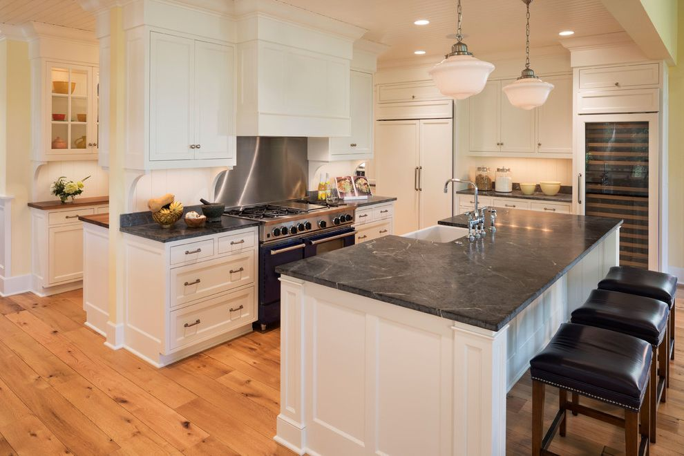 Bridge Faucets for Kitchen   Traditional Kitchen  and Beer Wine Fridges Casual Elegance Classic Counter Stools Pantry Pendant Lights Sink in Island Vent Hood White Kitchen