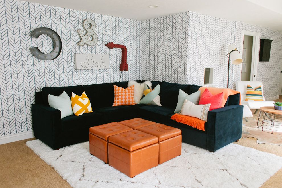 $keyword Modern Basement Family Room $style In $location