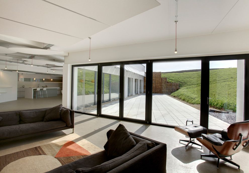 Edmond Heat and Air with Contemporary Living Room Also Contemporary