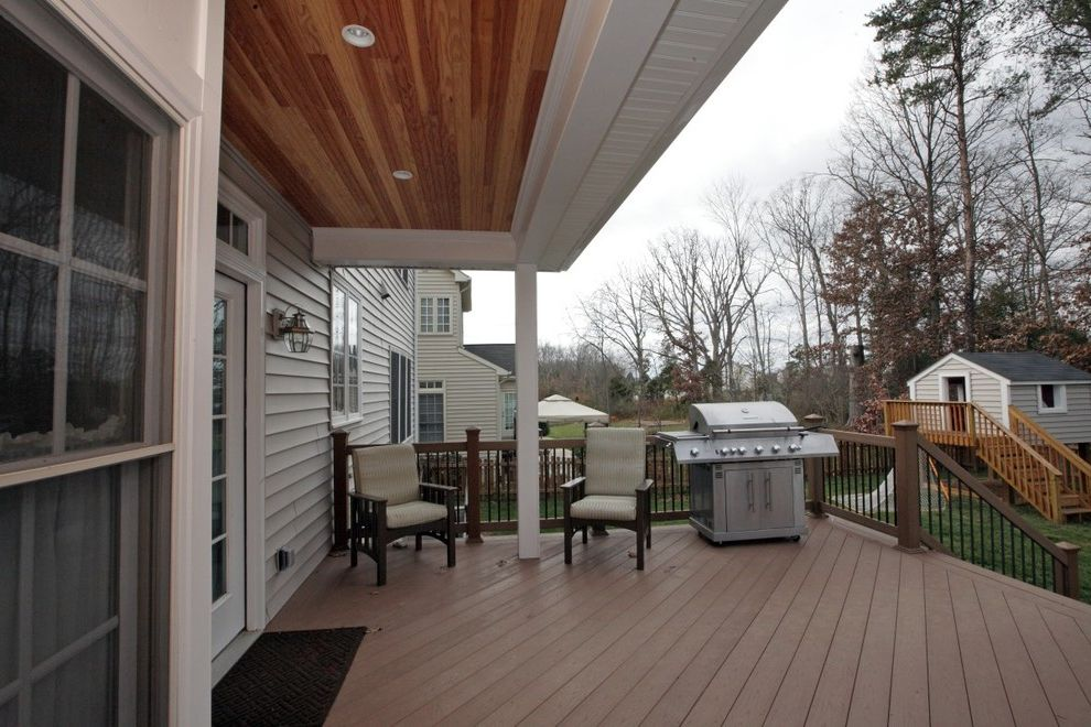 Enterprise Chantilly Va with Traditional Deck Also Chantilly Custom Made Deck Porch Virgnia
