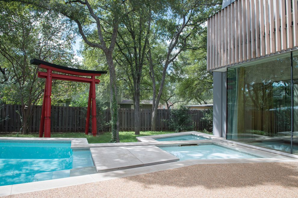 Four Seasons Heating and Cooling Ripoff   Midcentury Pool Also Architecture Exterior Jacuzzi Midcentury Modern House Pool Regional Modern