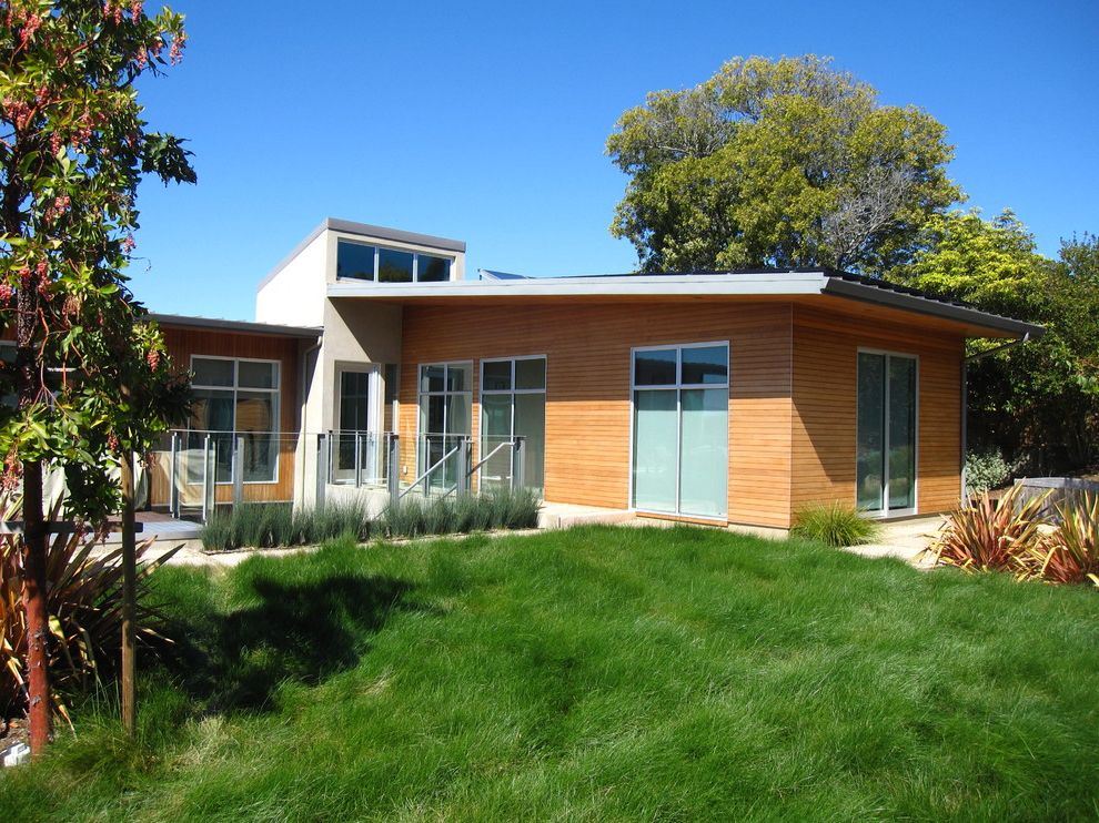 Four Seasons Heating and Cooling Ripoff with Modern Landscape  and Modern