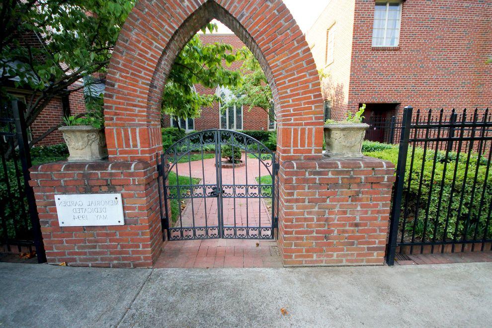 Grace Church Dumfries   Traditional Landscape Also Atlanta Church Courtyard Freedom Park Hardscape Inman Park Landscape Little 5 Points Midtown Ponce De Leon United Methodist