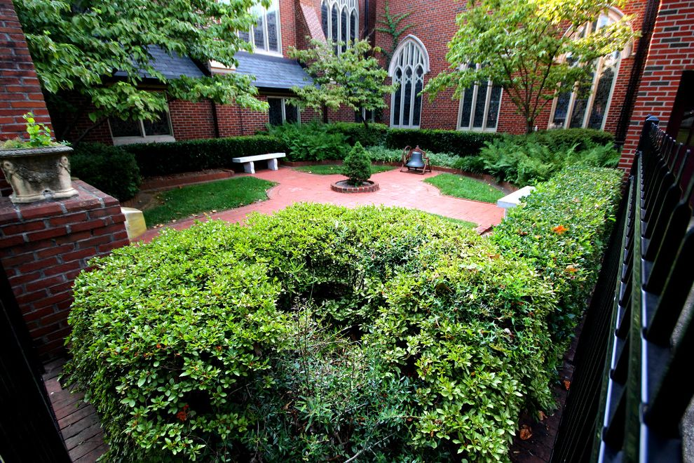 Grace Church Dumfries   Traditional Landscape  and Atlanta Church Courtyard Freedom Park Hardscape Inman Park Landscape Little 5 Points Midtown Ponce De Leon United Methodist