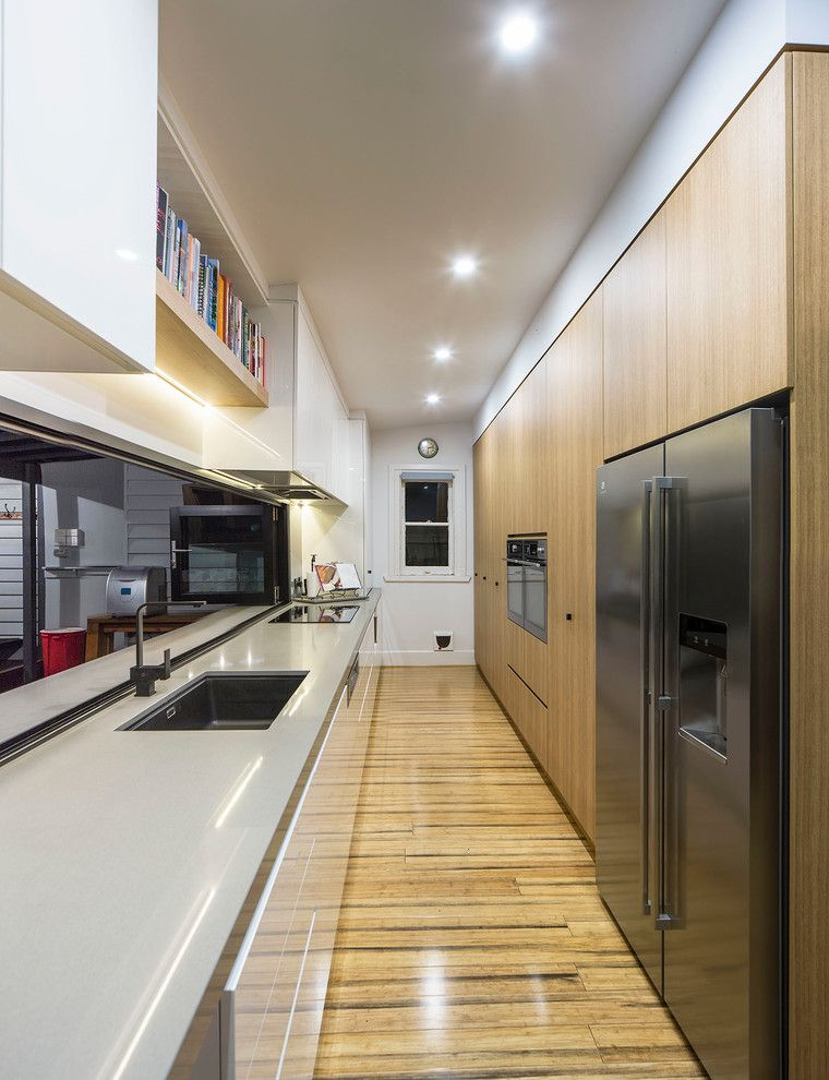 J and J Appliances Tulsa with Contemporary Kitchen Also Bathroom Concealed Lighting Contemporary Kitchen Design Indoor Outdoor Living Kitchen Modern Kitchen Design Narrow Spaces Outdoor Dining