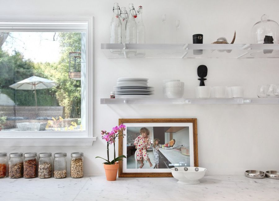 Lucite Containers   Contemporary Kitchen  and Contemporary