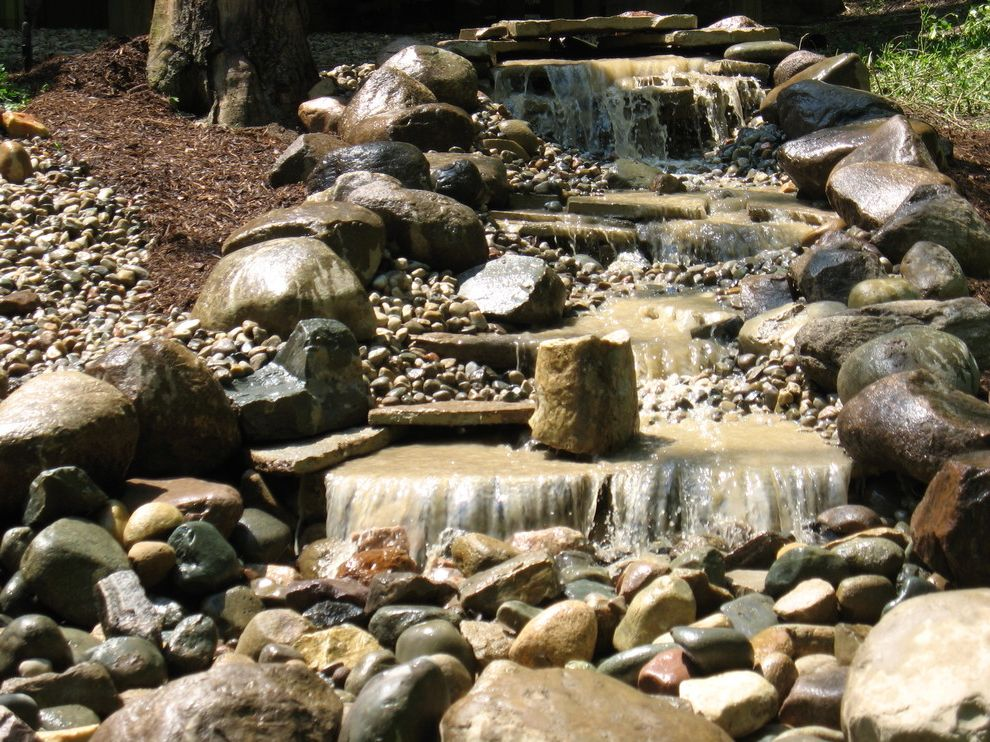 Michigan Landforms   Traditional Landscape  and Natural Water Features Pondless Water Features Ponds Water Features