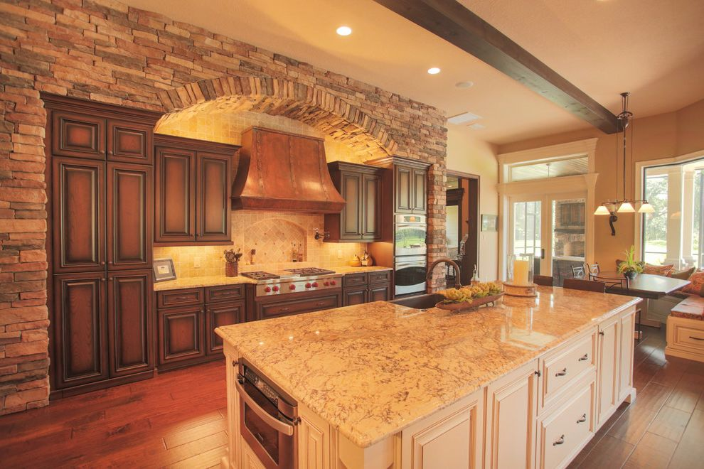 Olivera Construction with Traditional Kitchen Also Kitchen