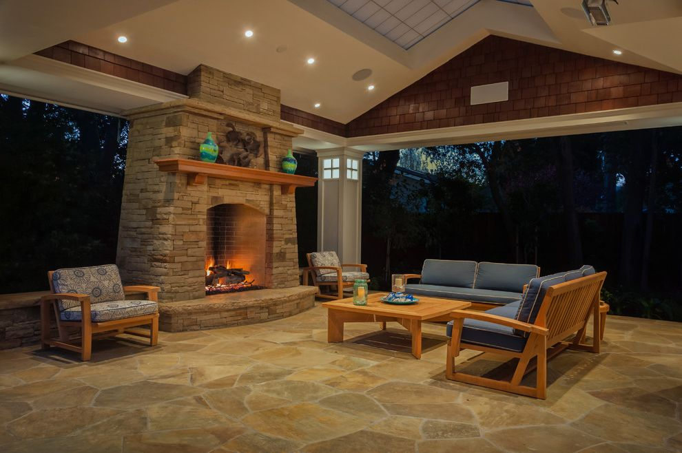 Orchard Supply Patio Furniture   Traditional Patio Also Ceiling Lights Coffee Table Covered Patio Fireplace Mantel Outdoor Fireplace Outdoor Furniture Patio Furniture Sofa Stone Fireplace Stone Fireplace Surround Stone Floor Wood Furniture