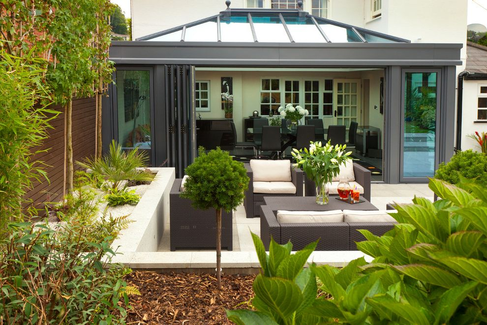Orchard Supply Patio Furniture with Contemporary Exterior  and Aluminium Orangery Conservatory Contemporary Extension Contemporary Outdoor Furniture Flowerbeds Orangery Patio Patio Furniture