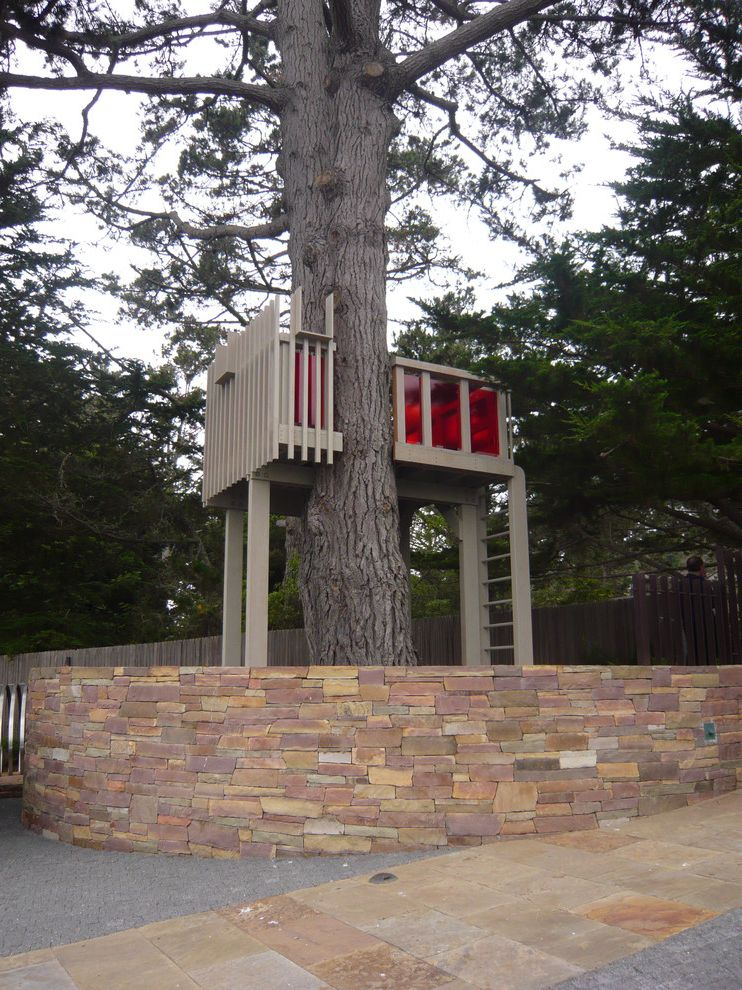 Paradise Tree Service   Modern Landscape Also Stone Retaining Wall Stone Tiles Tree House