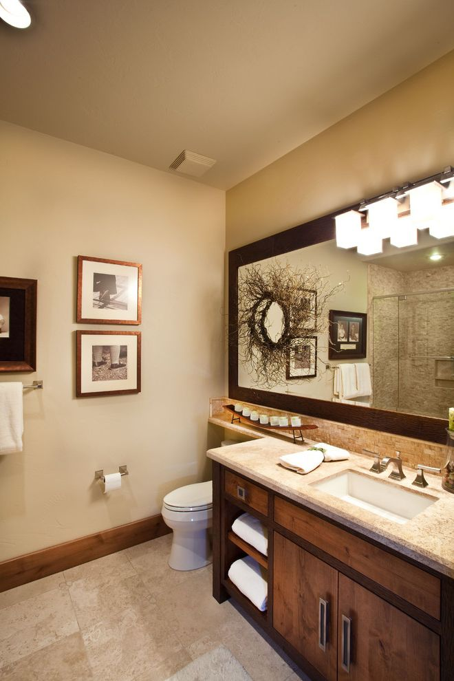 Rustic Bathroom $style In $location