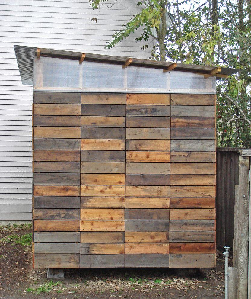 Petaluma Storage   Modern Shed  and Modern