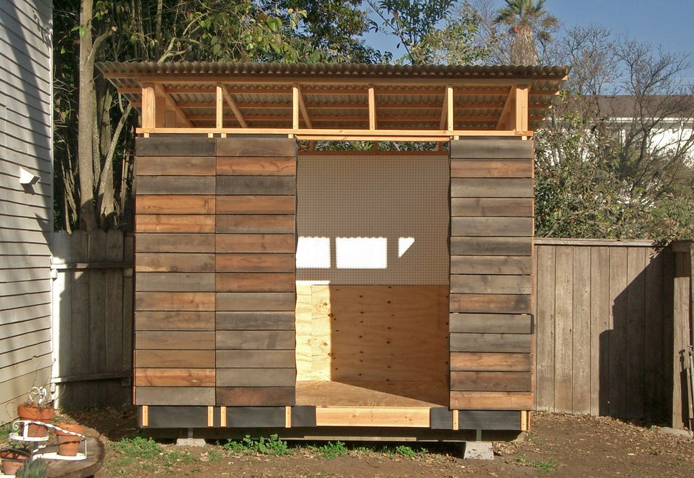 Petaluma Storage with Modern Shed Also Modern