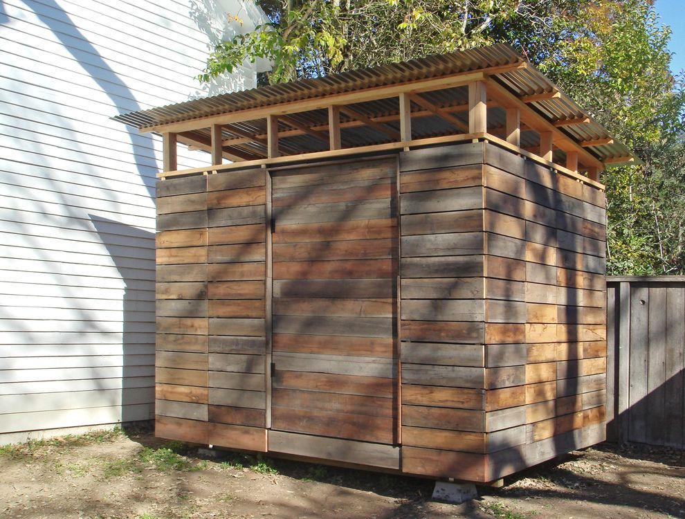 Petaluma Storage with Modern Shed Also Modern
