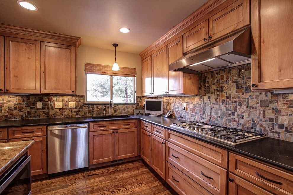 Plumber Parker Co   Traditional Kitchen Also Capstone Home Renovations Double Sided Gas Fireplace Hardwood Floors Parker Granite Countertops Parker Kitchen Remodel Parker Kitchen Remodel Contractor Pinery Kitchen Remodel Stone Fireplace