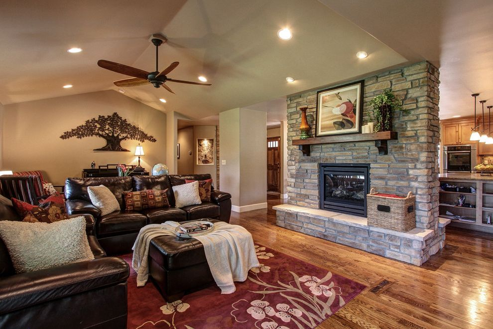 Plumber Parker Co   Traditional Living Room Also Capstone Home Renovations Double Sided Gas Fireplace Hardwood Floors Parker Granite Countertops Parker Kitchen Remodel Parker Kitchen Remodel Contractor Pinery Kitchen Remodel Stone Fireplace
