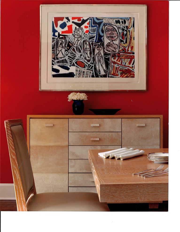Red Lobster Chicago with Contemporary Dining Room Also Basquiat Blocky Dining Buffet Light Wood Modern Art Red Wall Upholstered Dining Chair White Trim Wood Buffet Wood Dining Chair Wood Dining Table