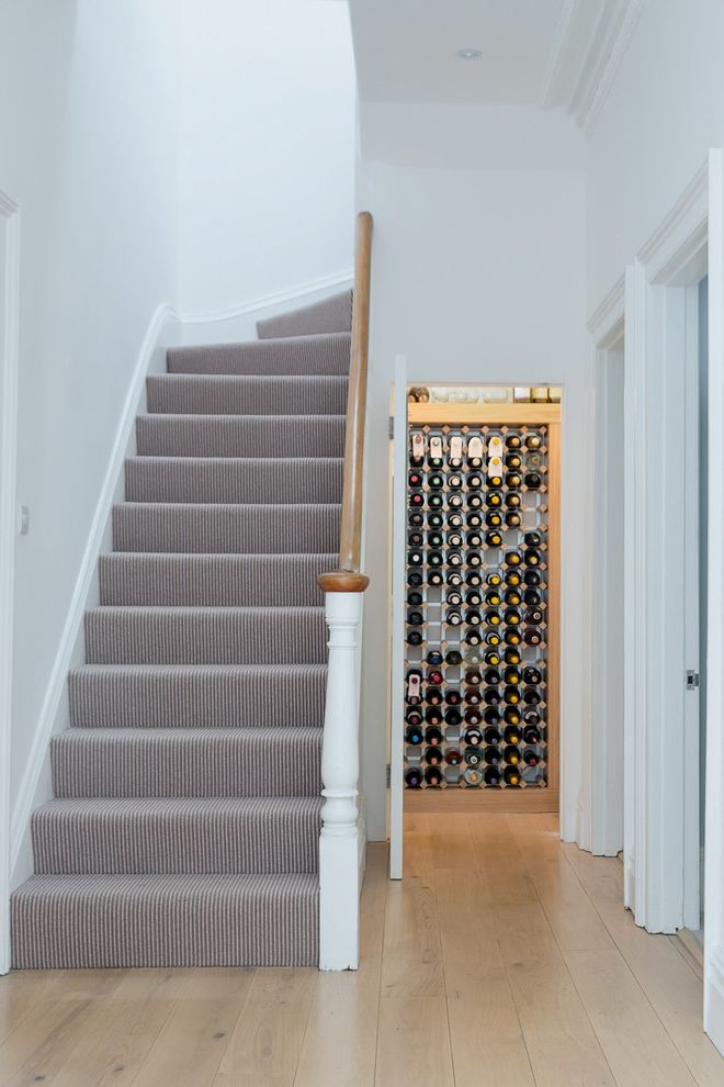 Replacing Carpet on Stairs   Contemporary Staircase  and Bathroom Contemporary Extension Furniture Glazed Extension Kitchen Refurbisment Remodel Stair Carpet Stair Runner Staircase Carpet Wine Storage