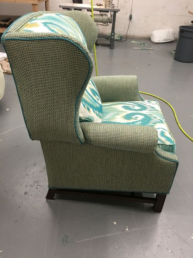 Reupholster Recliner   Modern Spaces  and Comfortable Recliner Reupholstered